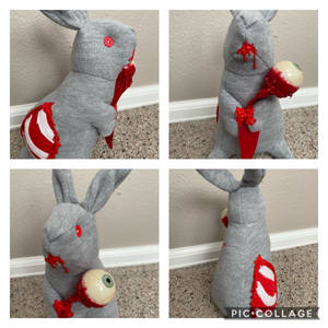 Edward the Zombie Bunny
