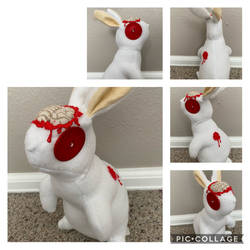 Clyde the Zombie Bunny