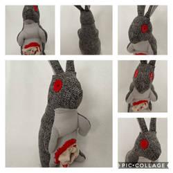 Jeffery the Zombie Bunny
