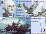 Alternate $10 banknote for the United States