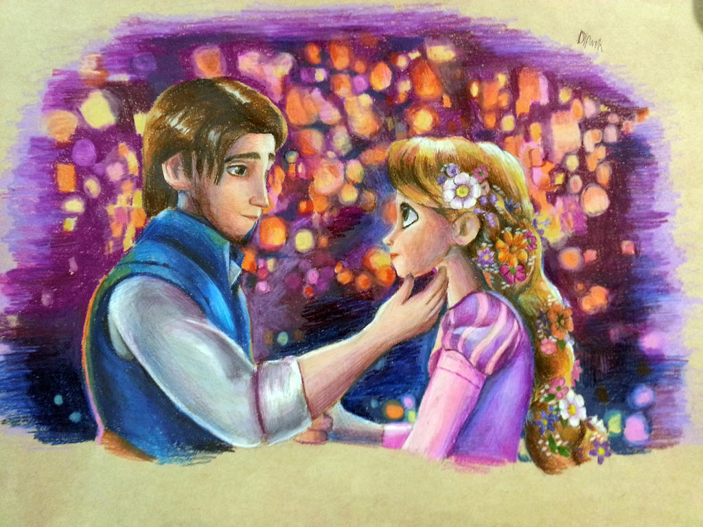 Tangled Fan Art
