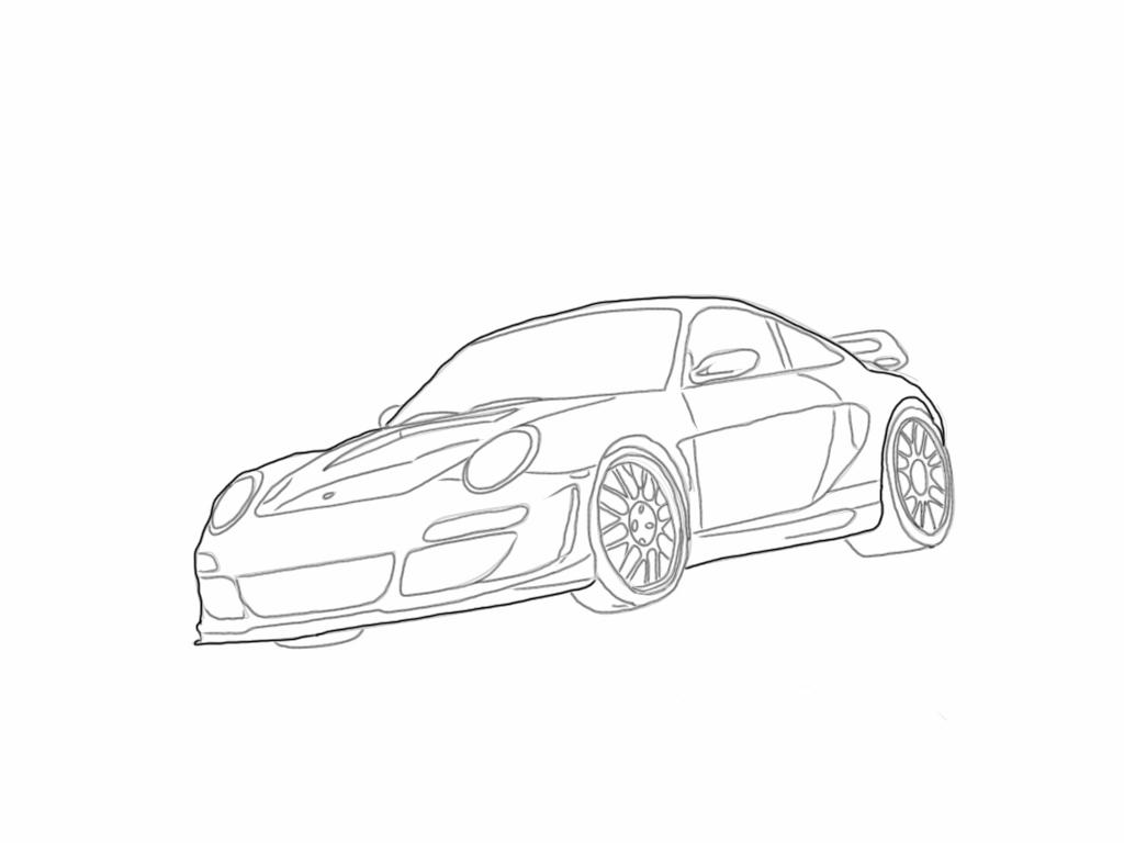 Porsche by BradyHernandez