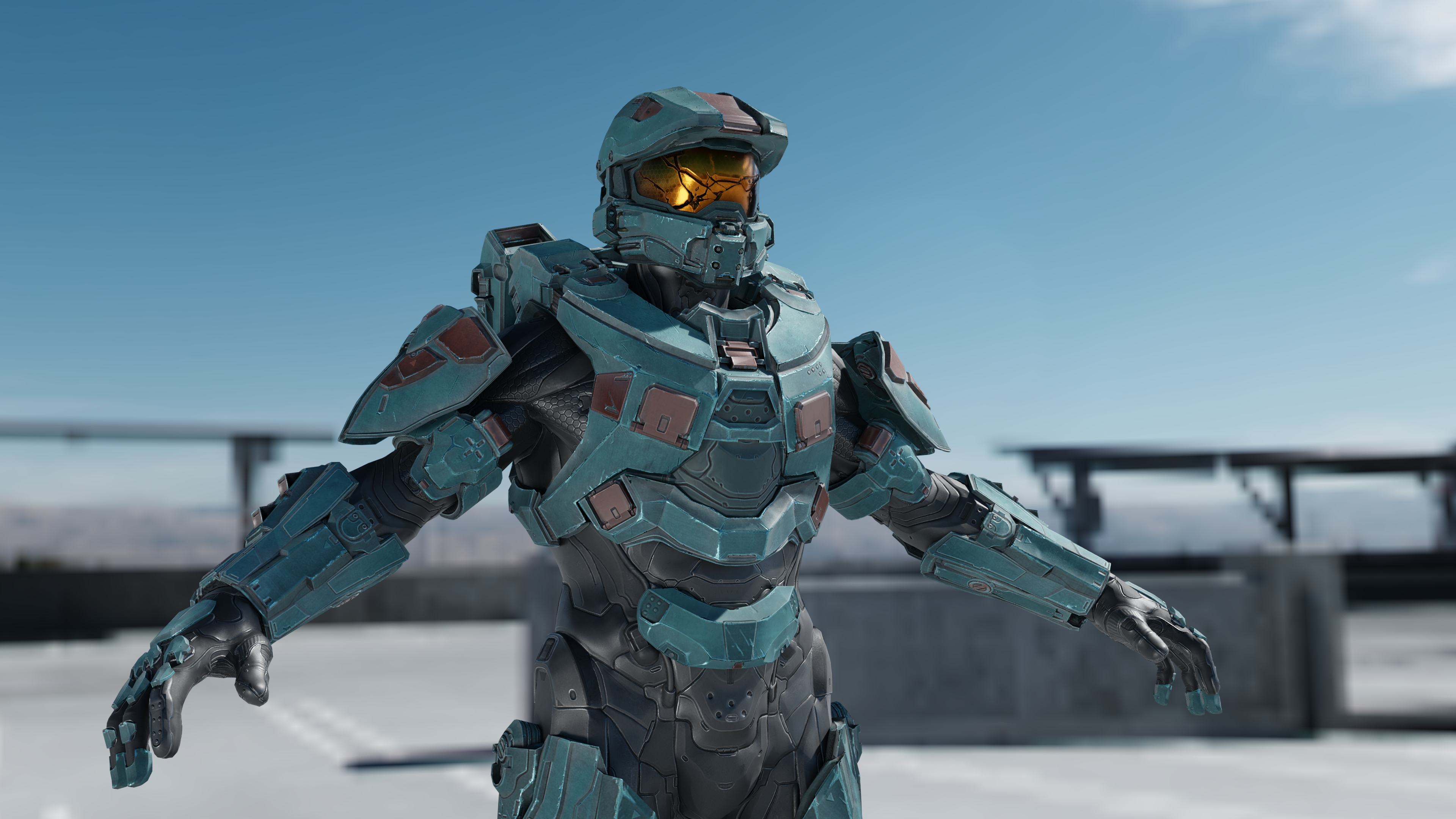Halo 5 Multiplayer Chief Armour 3 By Masterj2001 On Deviantart