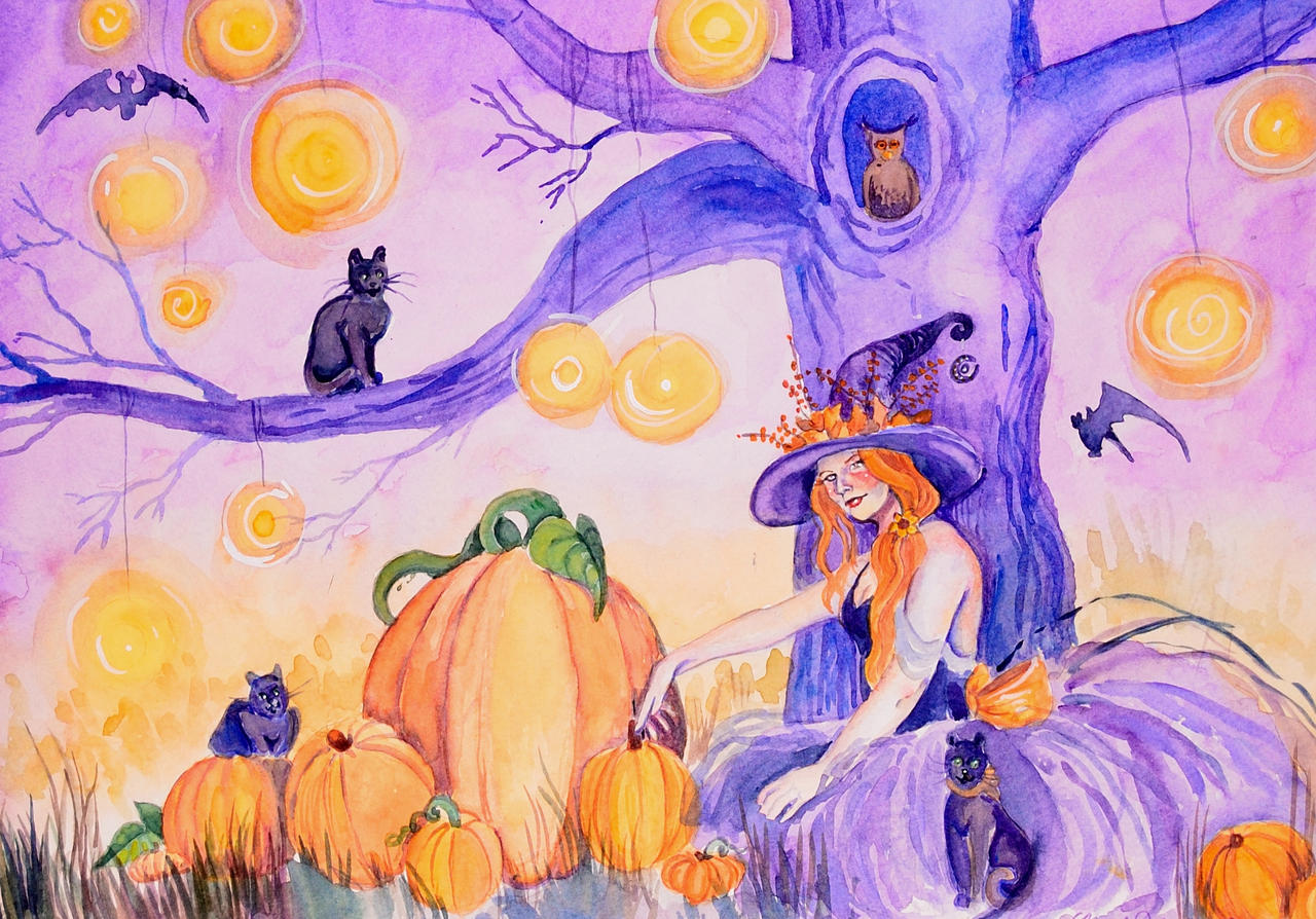 All Hallows Eve by amethystpurple1805