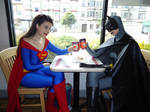 Supes and Bats's coffee date