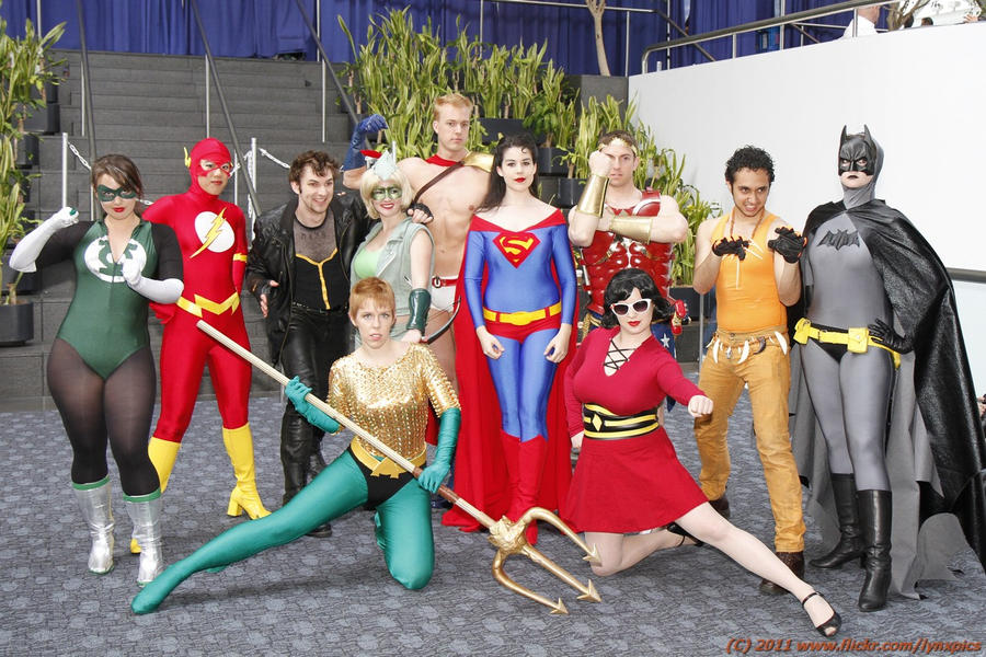 Gender Bent Justice League by miss-kitty-j