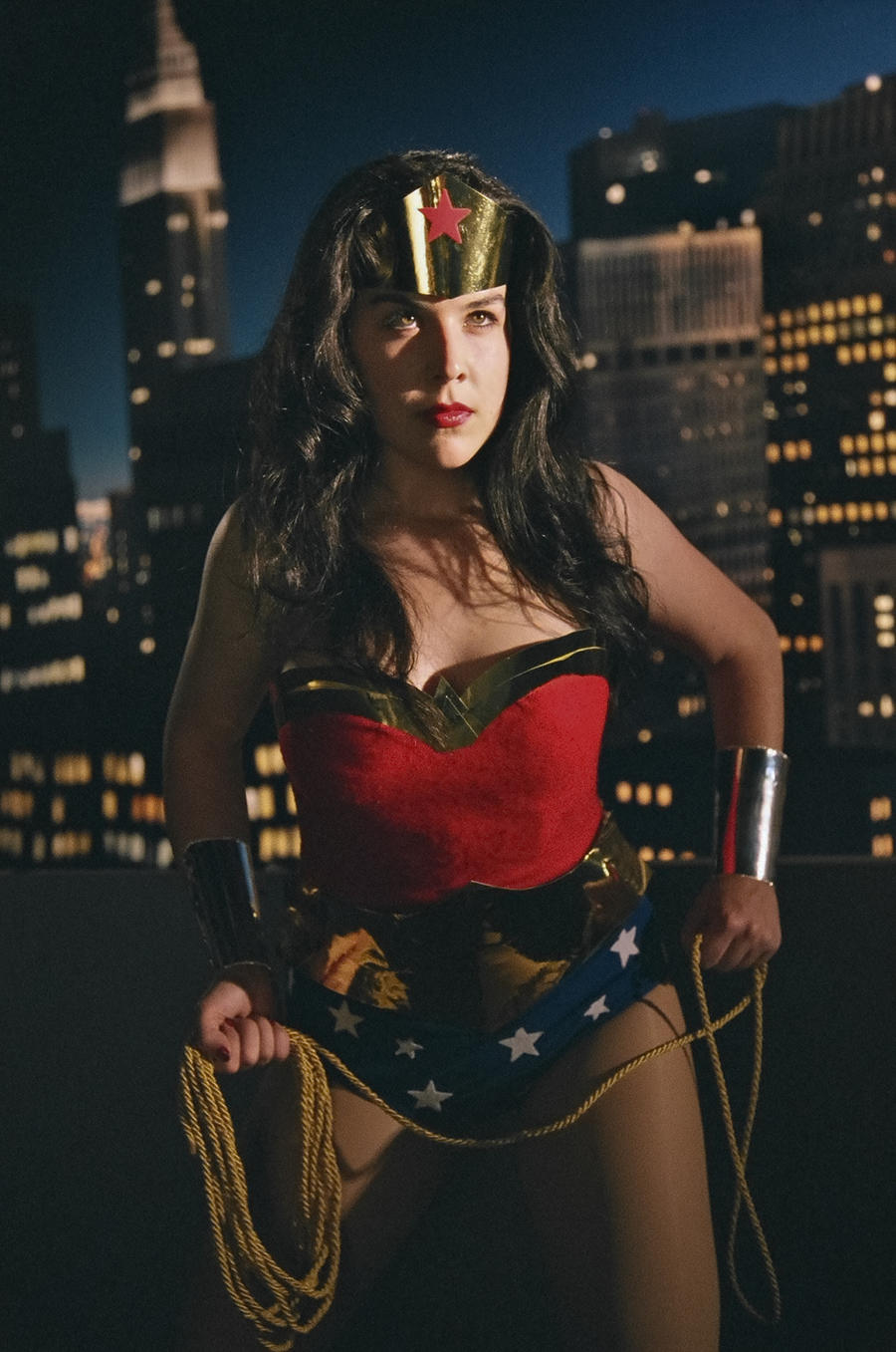Wonder Woman's City by miss-kitty-j