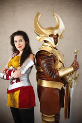 Lady Sif and Heimdall