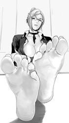 Meiko Shiraki Feet by OrangeThunder2