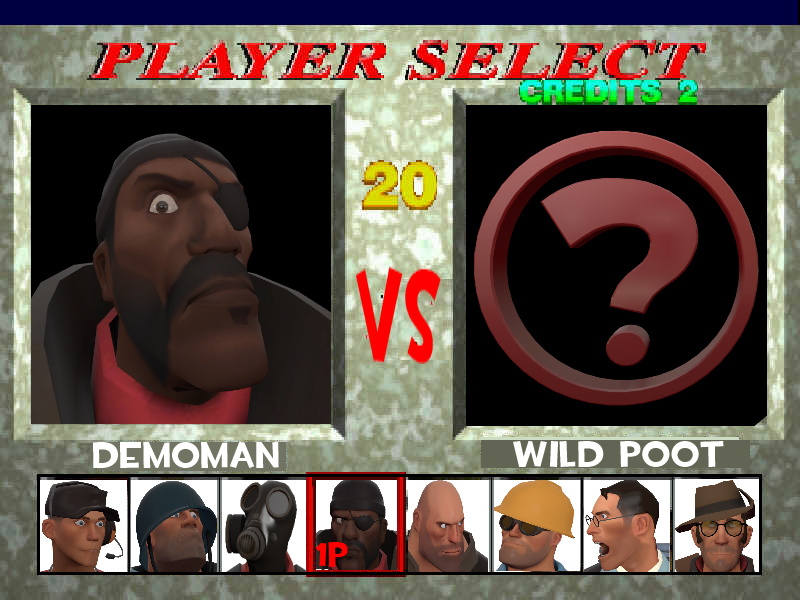 Tekken Fortress - character select screen by HeroWolfMod ...