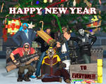 Happy New Year Everyone! by HeroWolfMod