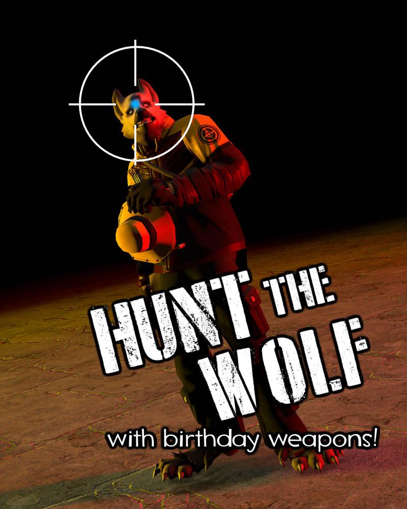 Hunt propaganda by HeroWolfMod