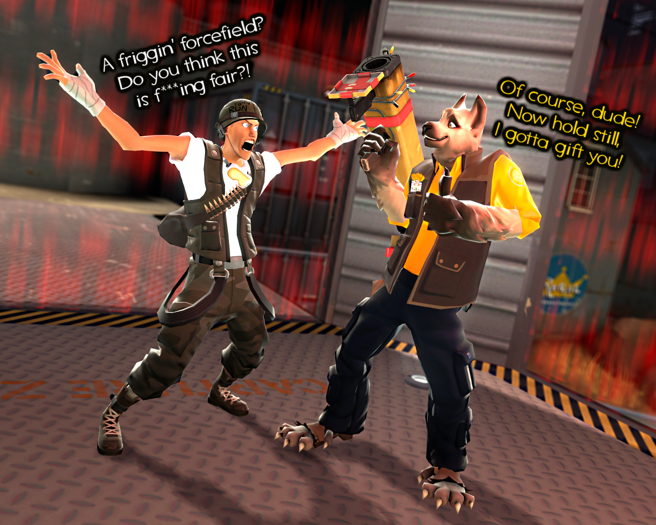 Happy Birthday, Teammate92! by HeroWolfMod