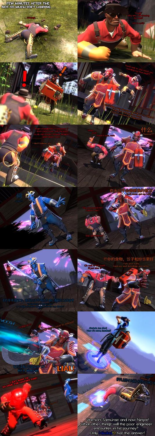 Comic Tennis - The Intel P8 by HeroWolfMod