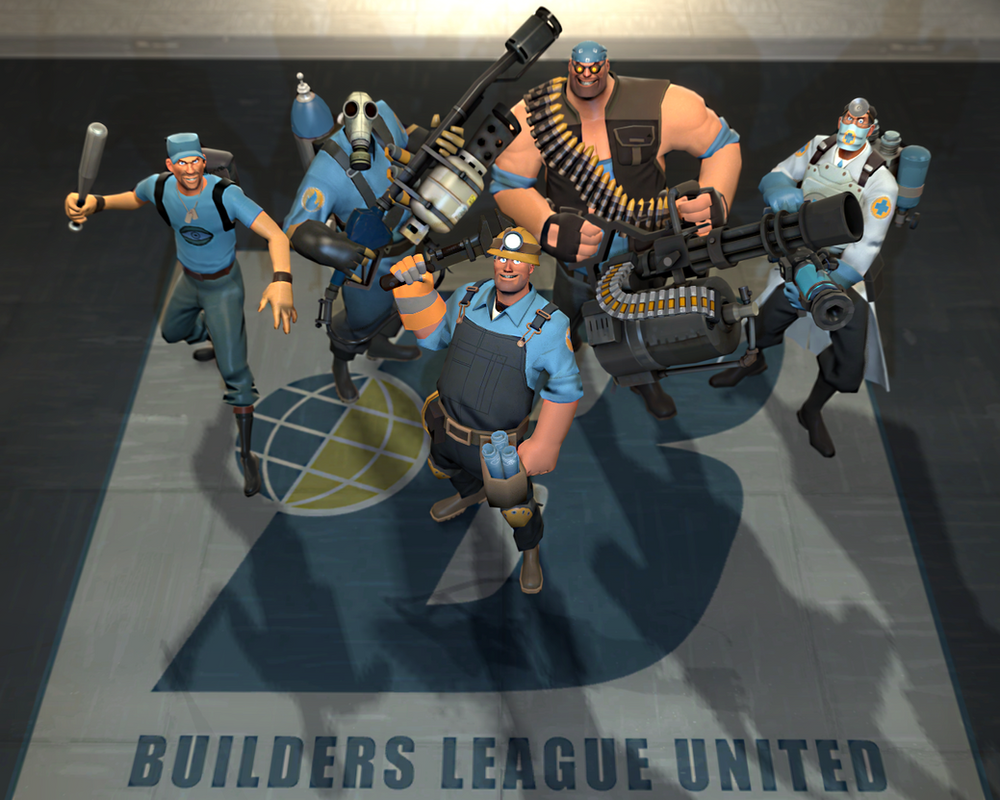 Builders League United by HeroWolfMod