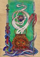 Four treasures of Tuatha de Danaan by Svetlana-IR