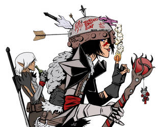 Tank Girl of Kirkwall by space-aged