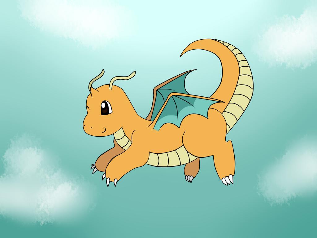 Dragonite by mychemforever
