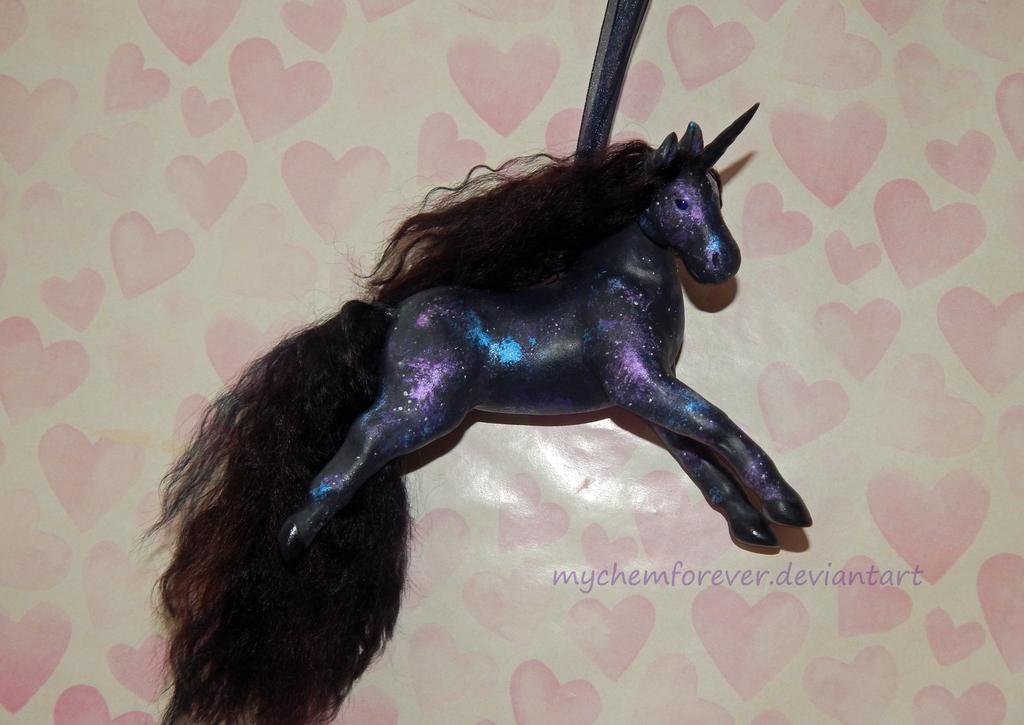 Galaxy unicorn sculpt (2) by mychemforever