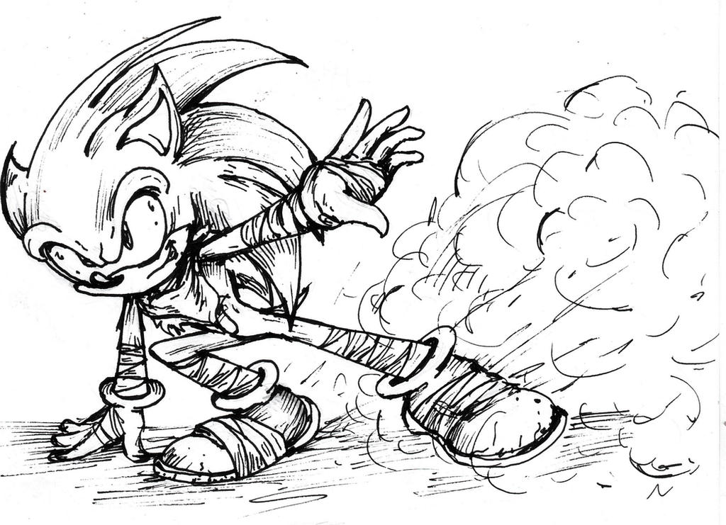Sonic Boom Doodle by MissTangshan95 on DeviantArt