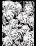 The many faces of Sonic The Hedgehog..Boom style!