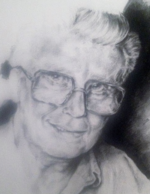 Papa Brown - Pencil Portrait R.I.P by MissTangshan95