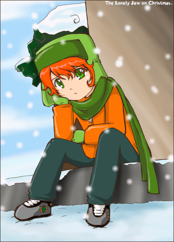 Lonely Jew on Christmas::. by HikaruJen on DeviantArt