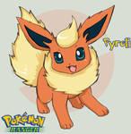 Pokemon - Pyroli by HikaruJen