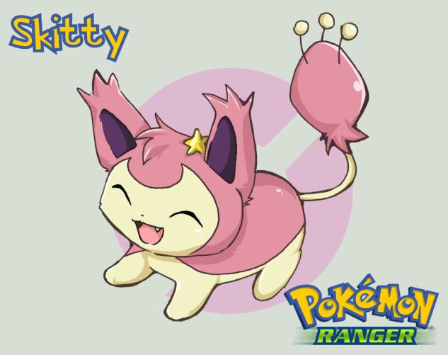 Pokemon - Skitty by HikaruJen on DeviantArt