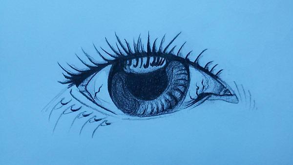 Eye sketch by thaifl