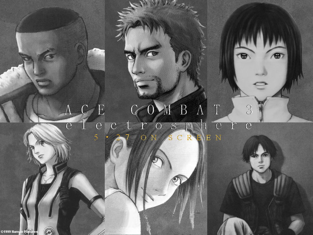 Ace Combat 3 Electrosphere Theatrical Wallpaper By