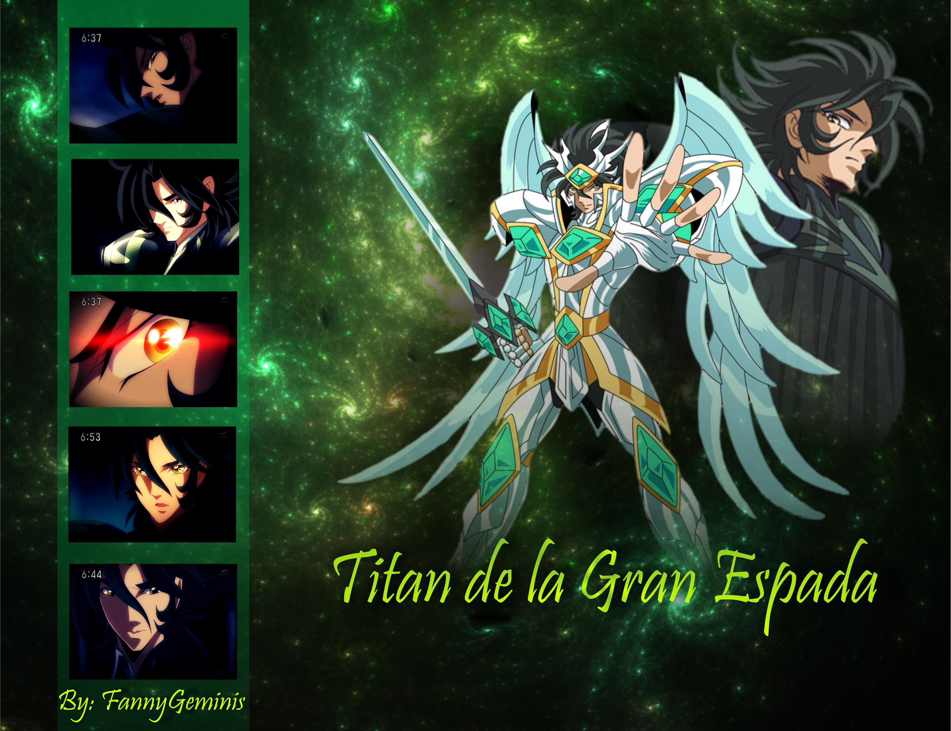 Titan de la Gran Espada - Saint Seiya Omega by