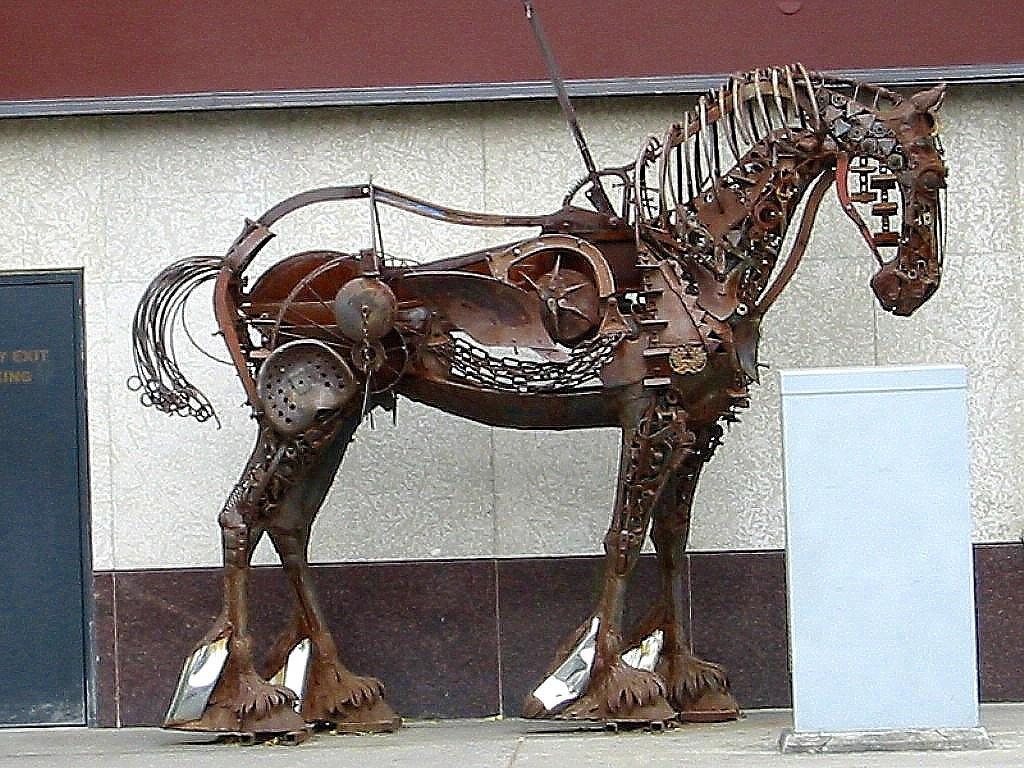 Clockwork Horse by AbandonedPariah