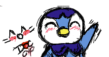 iScribble - Piplup by DoctorPixel