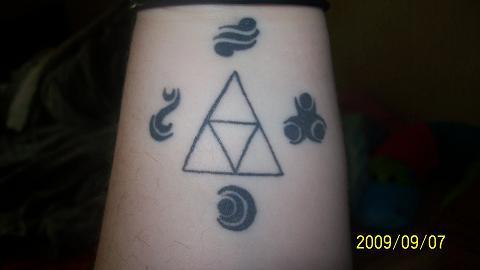 triforce tattoo self design by doctorpixel on deviantart. Black Bedroom Furniture Sets. Home Design Ideas
