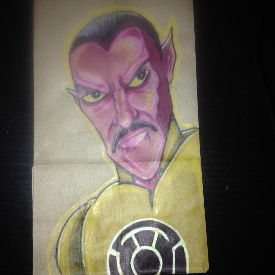 Sinestro Lunchbag by Tribal-Clown