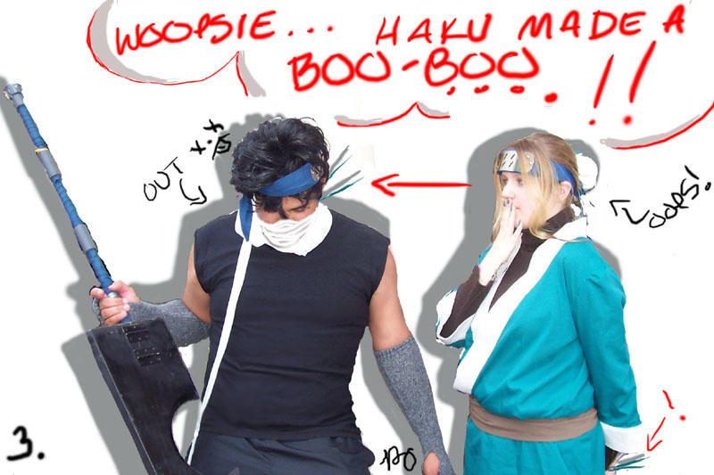 Zabuza and haku cosplay