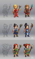 Characters Concepts
