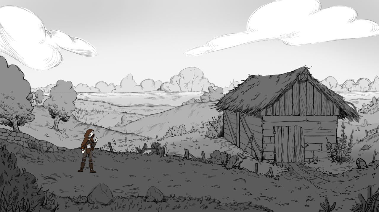 Game Background Sketch