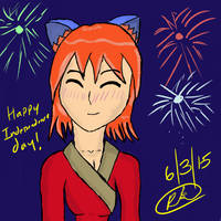 Independence day art work practice 6/3/15