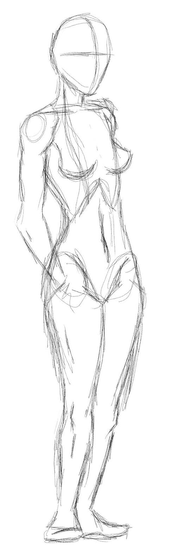 Moar female anatomy practice by Galifragilistic on DeviantArt