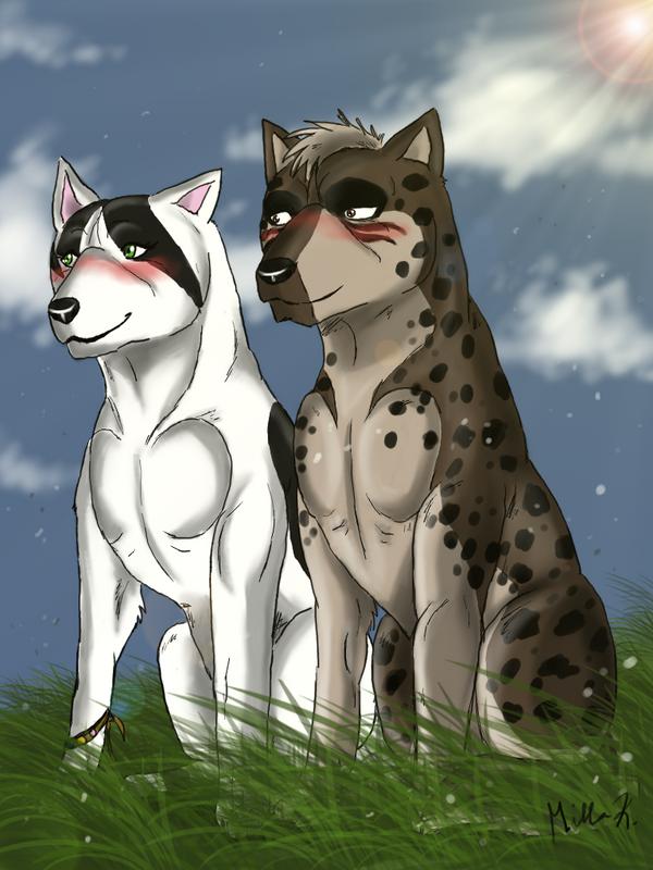 Manami And Tesshin by Kosmik90