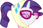Rarity's Camping Face