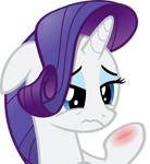 Rarity's Inflamed Cuteness