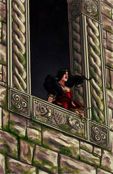 Morgan le Fay by MichaelHoweArts
