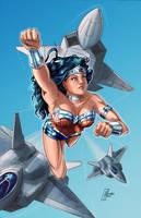 Wonder Woman by MichaelHoweArts