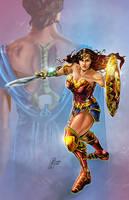 Princess Diana- Wonder Woman by MichaelHoweArts