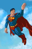 Happy Birthday Superman by MichaelHoweArts