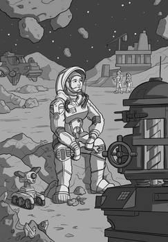 Asteroid Outpost IX