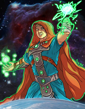 Dungeon Master: What Disability - Commission